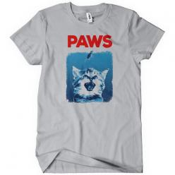 Paws Funny T-Shirt Cheap Jaws Shark Week Textual Tees: Paws Funny, T Shirt Cheap, Textual Tees, Cheap Jaws, Tee Shirts, Week Textual, Shark Week