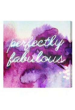 perfectly fabulous.: Inspiration, Color, Canvas Art, Perfectly Fabulous, Fabulous Pillow, Oliver Gal, Pillows, Canvases, Gal Perfectly