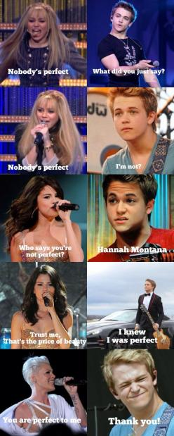 Personaly, I think Hunter Hayes is FAR from perfect...but this struck me as funny!: Hayes Perfect, Hunters, Hannah Montana, Hunter Easton, Hunter Hayes ?, Hunter Hays, So Funny, Hunterhayes, Easton Hayes