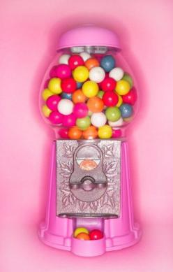 Pink gumball machine...bubbles and pink, two great things together!  I would fill it with all pink bubble gum balls!: Pink Gumball, Gum Ball Machine, Sweet, Bubble Gum Machine, Pink Bubblegum, Gumball Machine Bubbles, Gumball Machine I, Bubblegum Machine