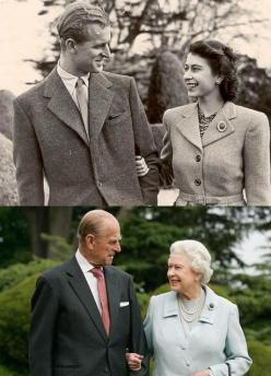 Queen Elizabeth. I love this picture: Queen Elizabeth, Sweet, Royal Family, Prince Philip, The Queen, Prince Phillip, Elizabeth Ii, British Royal, Photo