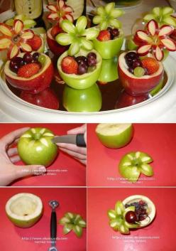 Saifou images | Welcome to SaiFou – Inspiring images: Fruit, Idea, Desert, Sweet, Food Decoration