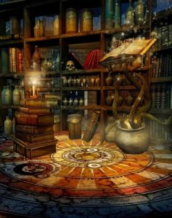 Sanctuary:  Wizard's #Library.:
