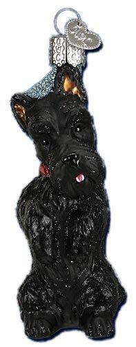 Scottish Terrier | Scottie Dog Ornament | Old World Christmas Glass Ornaments: Collector Ornaments, Terrier Ornaments, Christmas Decorations, Scotland Scottish Terrier, Christmas Ornaments, Glass Ornaments, Christmas Scotties, Scottish Terriers