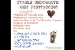 Secret Starbucks recipes- double chocolate chip frapp: Starbucks Recipes ️, Starbuck S Recipes, Starbucks Drinks, Secret Starbucks Recipes, Starbuck Drinks, Coffee Drinks, Starbucks Secret, Food Drinks, Chilly Drinks