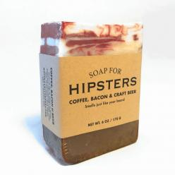 Soap for Hipsters - BEST SELLER! by Whiskey River Soap Co.   ''Smells just like your beard. Ah, hipsters. An almost completely passé concept at this point. But if we made a normcore soap, would it have to dress like Jerry Seinfeld? We swore off mo