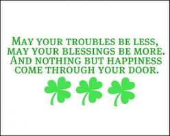 st. paddy's day: Irish Blessing, Auntie Lolo, St. Patrick'S Day, Lolo Crafts, St Patties Day, St Patrick'S Day, St Patricks