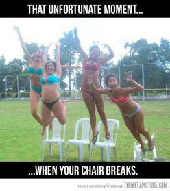 Still laughing! Ha ha ha: Chair, Giggle, Funny Pictures, Unfortunate Moment, Funny Stuff, Funnies, Humor