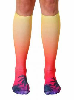 Sunset Knee High Socks: Gloves Socks, Sunset Knee, Sunsets, Royal Socks, Knee Highs, Knee High Socks, Socks Bows