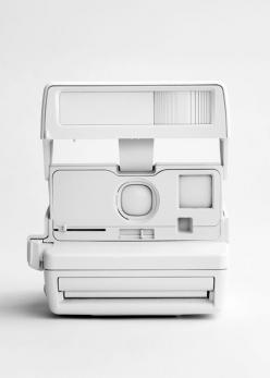SWAGGER LIKE A GOD: Polaroid Camera, White, White Camera, Things, White Polaroid, Photography, Design, Cameras
