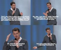 thanks daniel for making my excuse fall apart. lol.: Giggle, Funny Stuff, Funnies, Humor, Bad Test, Daniel Tosh, Test Taker