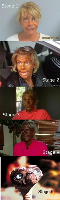 The 5 Stages of Tanning: Giggle, Funny Stuff, Funnies, Tan Mom, Humor, Tanning Beds