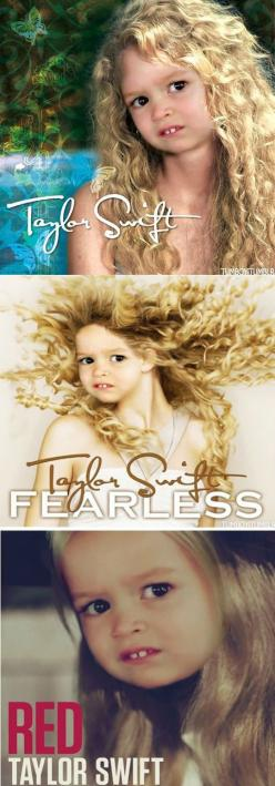 The new covers for Taylor Swift albums…This little girl's face will never fail to make me laugh.: Face, Taylor Swift, Little Girls, Laughing So Hard, Bahahahahaha Xd, Funny Stuff, Chloe Swift, So Funny