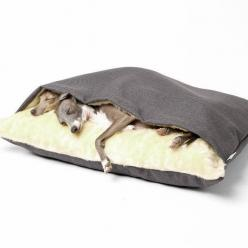 The Snuggle Bed: for your favorite cuddle bug.   41 Insanely Clever Products Your Dog Deserves To Own: Pet, Snuggle Bed, Favorite Cuddle, Dog Beds, Clever Products, Dog Deserves