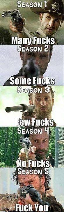 The Walking Dead: Thewalkingdead, Zombie, Seasons, The Walking Dead, Walking Dead Memes, Rick Grimes, Twd, Photo, Walking Dead Season 5 Memes 30