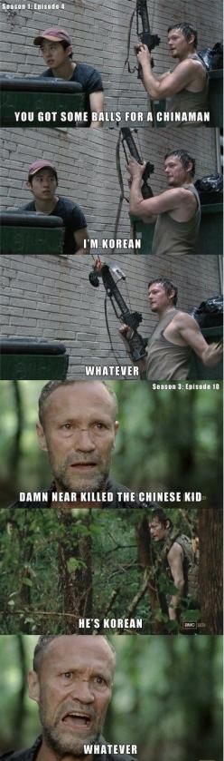 The Walking Dead TV Series! Love this Pin: The Walking Dead Funny Memes, Thewalkingdead, Daryl Dixon, Dixon Brothers, Walking Dead Memes, The Walking Dead Meme, Darryl Dixon, Walking Dead ️, He S Korean