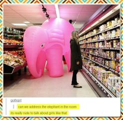 There's Nothing To Talk About Here // funny pictures - funny photos - funny images - funny pics - funny quotes - #lol #humor #funnypictures: Elephants, Funny Pictures, Humor Funnypictures, Funny Stuff, Pink Elephant, Photo, Rooms