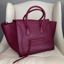 This color is so breathtaking...I think of it as almost a frosted mulberry color.  I want this bag!: Fashion, Handbags, Style, Color, Celine Bag, Bags Bags, Accessories, Purses