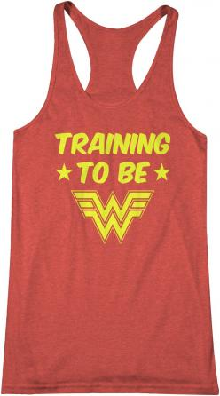 Training to be Wonder Woman: Style, Superheroes T Shirts, Wonder Woman