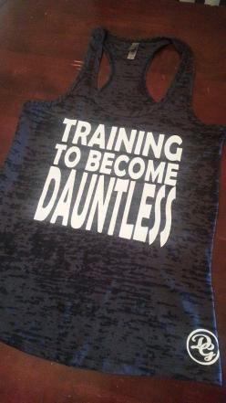 Training To Become Dauntless Tank Top.Womens Workout tank top. Fitness Tank Top.Womens Burnout tank.Crossfit Tank Top.Running Tank Top on Etsy, $19.99: Fitness Tanks, Yesss, Running Tank, Workout Tank Top, Tank Crossfit Tank, Burnout Tank Crossfit, Tank T