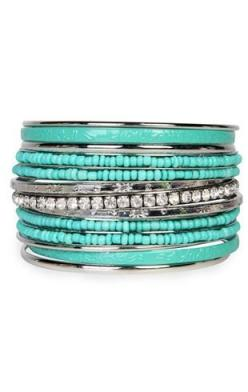 turquoise bengals: Style, Tiffany Blue, Turquoise Bangles, Favorite Color, Turquoise Cuff, Jewelry, Accessories, Bling Bling, Turquoise Bracelet