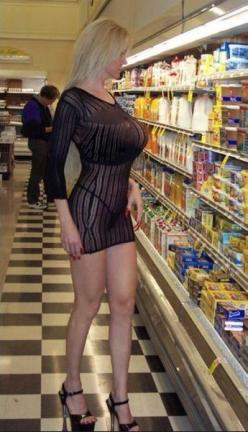 Two Gallons of Boobs at Walmart - No Way Girl - Stay Classy People of Walmart - Funny Pictures at Walmart: Grocery Store, Stuff, Beautiful, Sexy Girls, Posts, Shopping, Milf, Photo, People Of Walmart