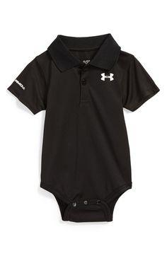 Under Armour Polo Bodysuit (Baby Boys) available at #Nordstrom @mrspeevey