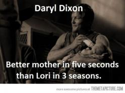 Walking Dead...: Norman Reedus, Daryl Dixon, The Walking Dead Darryl, Walking Dead Memes, The Walking Dead Carl, Walkingdead, Dead Daryl, Better Mother, Funny Memes