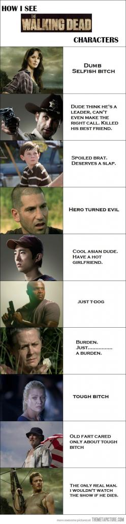 Walking Dead: Thewalkingdead, Dead Characters, The Walking Dead, Zombie, Truth, Funny, Pretty Accurate, So True, Funnies