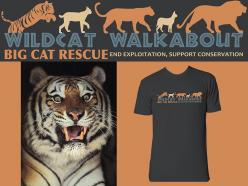 Your PURR-chase of SPECIAL EDITION Wild Cat Walkabout Tees can help wild cat conservation.: Cat Art, Help Wild, Cat Walkabout, Cat Conservation, Wild Cats, Walkabout Tees
