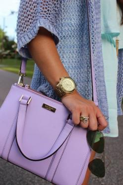 2015 MK Handbags discount for you! only $39 ! THIS OH MY GOD ~ MK handbags Outlet Online: Lavender Kate, Kate Spade Bag, Handbags, Color, Lavender Purse, Kate Spade Purse, Purses Bags, Katespade