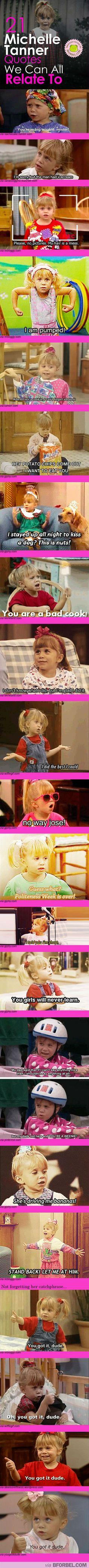 21 Michelle Tanner Quotes We Can All Relate To…