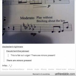 """""""There are minors present!"""" Music humor. Lol. Sorry about the language. Too funny: Band Music, Music Humor Funny, Band Puns, Band Geek Humor, Funny Music, Music Band, Band Humor Flute, Music Humor"""