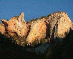 A rock formation that looks like a sleeping cat.: Amazing, Cats, Ukraine, Nature, Cat Mountain, Places, Photo, Catmountain, Animal