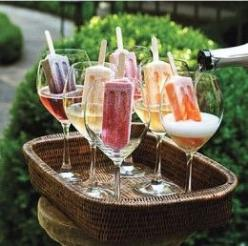 Alcoholic Popsicle Recipes: How to Make Popsicle Margaritas, Cocktails, and More  @Megan Ward Ward Ward Hall 4th. Of. July.: Champagne, Food, Wedding, Popsicles, Recipes, Cocktail, Summer, Drinks, Party Ideas