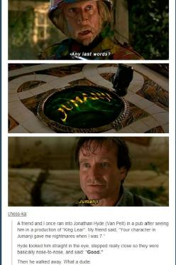 anyone else? // funny pictures - funny photos - funny images - funny pics - funny quotes - #lol #humor #funnypictures: Movies Literature, Pictures Funnypictures, Nerd, Jumanji Funny, Movies Tvshows Animes Games, Humor Funnypictures, Movies Laughs, Funny Q
