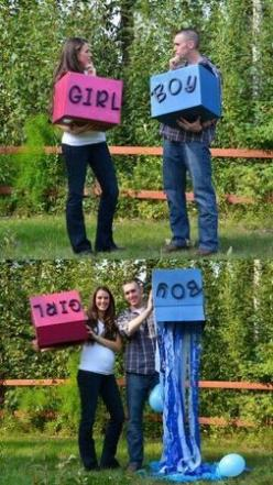 Baby gender reveal party ideas get creative; here are best from around the internet | AL.com: Baby Announcement, Baby Idea, Baby Reveal, Genderreveal, Reveal Ideas, Gender Reveal, Reveal Party, Baby Shower, Baby Stuff