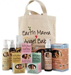 Birth & Baby Kit. Your birth bag's ready, but don't forget to pack what you need most to take care of your hurty mama parts after you've pushed a baby into the world! Earth Mama Angel Baby makes it easy with safe, natural products that comfort and hea