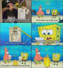 "But especially this time: | 19 Times The ""Spongebob"" Writers Said Screw Logic: Classic Spongebob, Sponge Bob, Funny Stuff, Funnies, Spongebob Squarepants, Spongebobsquarepants, Spongebob Logic"
