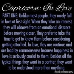 Capricorn: In Love, Part One: Zodiac Signs Capricorn Love, Capricorn In Love, Capricorn Love Quotes, Stuff, Capricorn Quotes Love, Goat, Horoscope, Astrology
