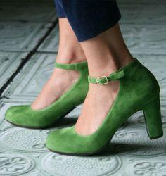 CHIE MIHARA / green shoes