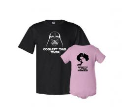 Coolest Dad Ever and Daddy's Litle Princess Father T-Shirt Daughter Bodysuit Matching Set First Father's Day Funny Baby Shower Gift Idea on Etsy, $39.87 CAD: Daddy S Litle, Gift Ideas, Father'S Day, Baby Shower Gifts, Princess Father, Coolest