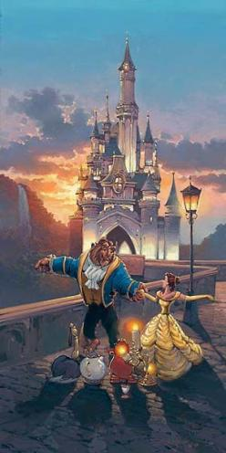 Don't know why, but I've been dying to watch this lately :) : Beautyandthebeast, Sunset Waltz, Disney Princess, Rodel Gonzalez, Disney Pixar, Disney Art, Beauty And The Beast, Things Disney, Disney Movie