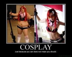 Epic Cosplay Fails!: Just Because, Girls, Funny Things, Demotivational Posters, Funny Stuff, Funnies, Anime