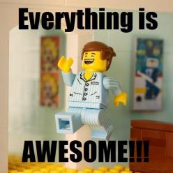 Everything is awesome! The LEGO movie: Legomovie, Lego Movie Funny, Awesome Movies, Lego Quote, Legos, Awesome Things, Everything Is Awesome Lego