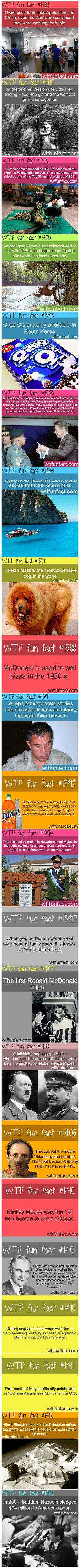 Facts you didn't know