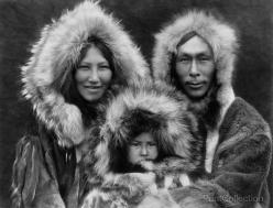 Family Group Noatak Eskimos, By Edward Curtis photographed in 1929.: Edward Curtis, Native Americans, Alaska, Inupiat Family, Eskimo, Families, Photo, People