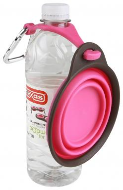 For my friends with dogs! On the go water bowl.: Pet Travel, Dogs, Cups, Pets, Collapsible Travel, Bottle Holders, Collapsible Pet