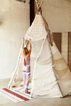 FRENCHIE | TheyAllHateUs: Ideas, Inspiration, Teepees, Tent, Free People, Kids, House
