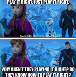 Frozen and marching band collide...New idea for next year's performance: Band Geek, Band Nerd, Play, Bandgeek, Marching Band Meme, Band Memes, Band Director